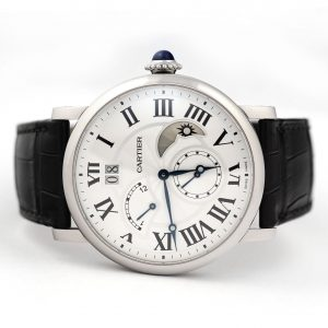 Cartier Rotonde de Cartier Retrograde Time Zone Large Date Watch