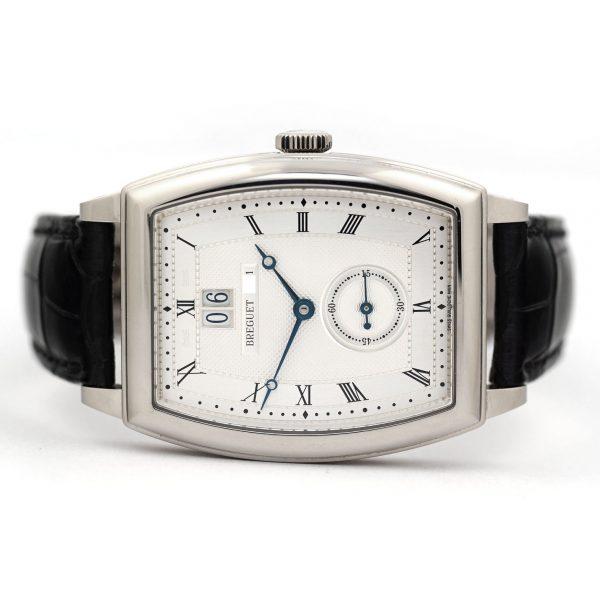 Breguet Heritage Big Date White Gold Watch