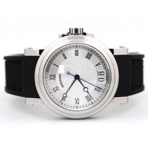 Breguet Marine Automatic Big Date Silver Dial Watch