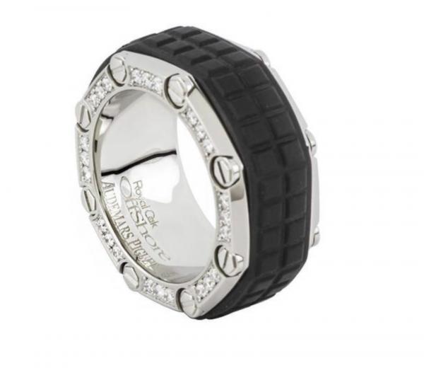 Audemars Piguet Royal Oak Offshore Titanium Diamond Ring