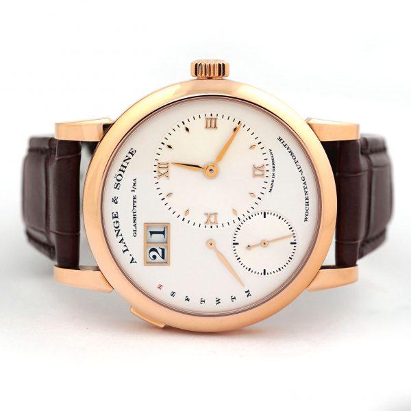 A. Lange & Sohne Lange 1 Daymatic 39.5mm Rose Gold Watch