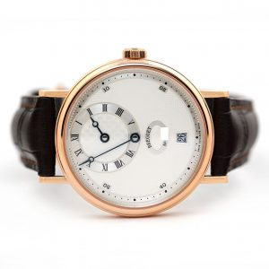 Breguet Classique Regulator Silver Dial Rose Gold Watch