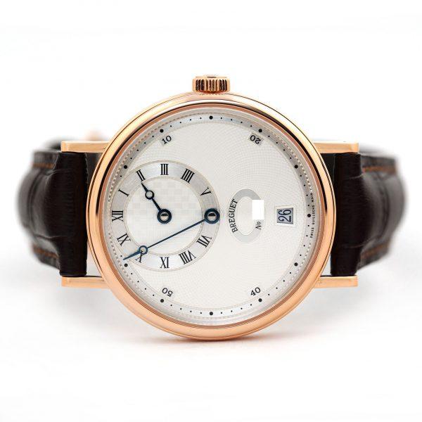 Breguet Classique Regulator Silver Dial Rose Gold Watch