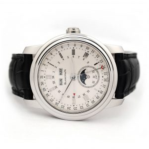 Blancpain Le Brasssus Quantieme Perpetuel GMT Platinum Watch