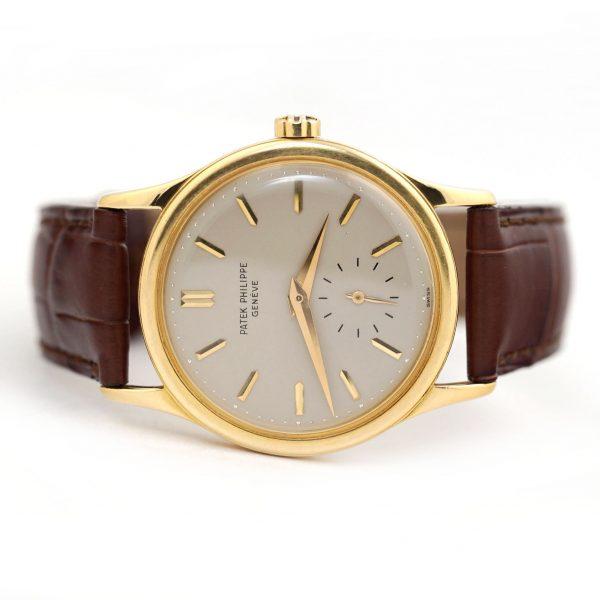 Patek Philippe Calatrava Vintage Yellow Gold Watch