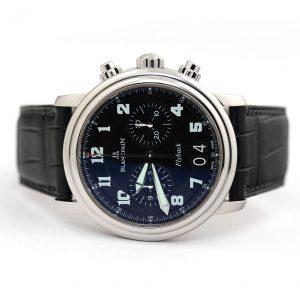 Blancpain Leman Flyback Chronograph Grande Date Watch