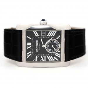Cartier Tank MC Automatic Black Dial Watch