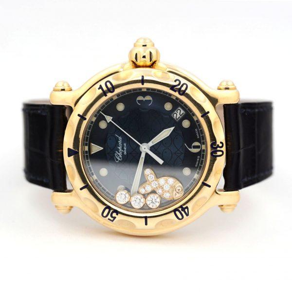 Chopard Happy Fish Quartz Yellow Gold Watch