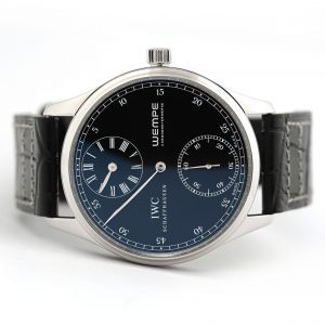 IWC Portugieser Regulateur Wempe Hand Wound Watch