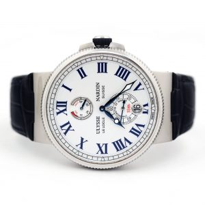 Ulysse Nardin Marine Chronometer 45mm White Dial Watch
