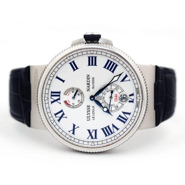 Ulysse Nardin Marine Chronometer 45mm White Dial Watch