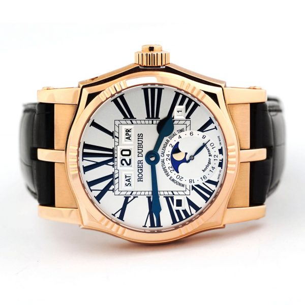 Roger Dubuis Sympathie Perpetual Dual Time Watch