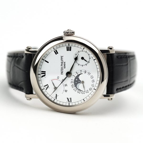 Patek Philippe Complications Power Reserve Officers White Gold
