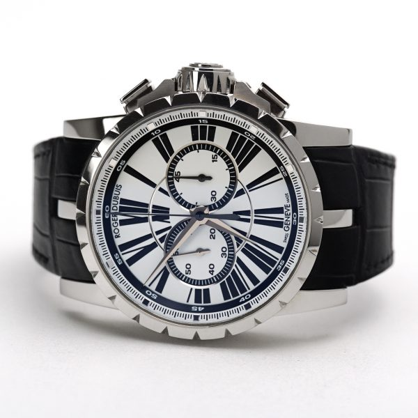 Roger Dubuis Excalibur Chronograph 46 mm Silver Dial