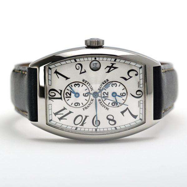 Franck Muller Casablanca Master Banker 6850 Silver Dial