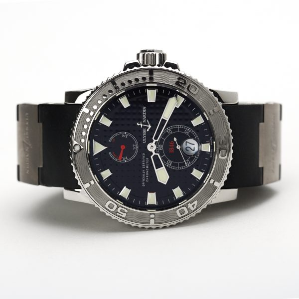 Ulysse Nardin Maxi Marine Diver Chronometer Black Dial