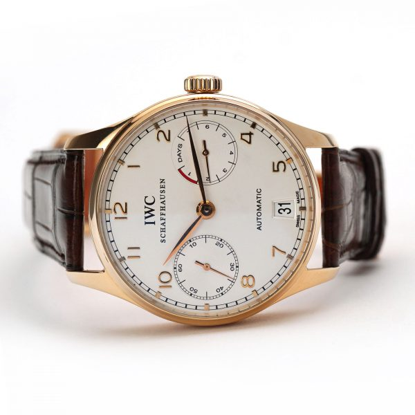IWC Portugieser Automatic 7 Days Power Reserve Rose Gold
