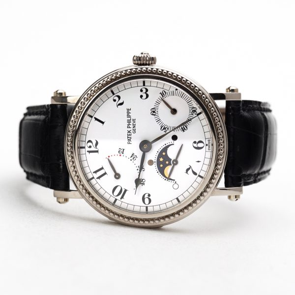 Patek Philippe Complications Power Reserve Officers White Dial