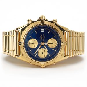 Breitling Chronomat 40 Chronograph Yellow Gold