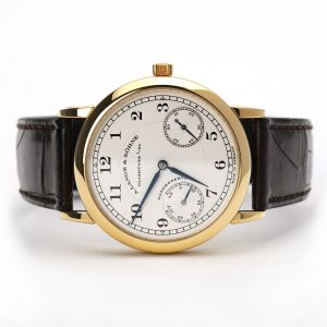 A. Lange & Sohne 1815 Up Down Manual Wind Yellow Gold